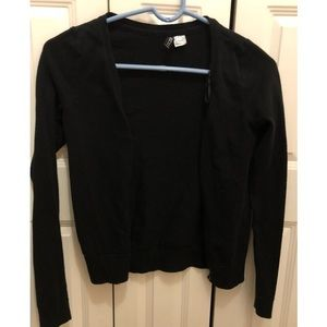 H&M black cardigan